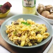 receta ybarra de revuelto campero de patatas, chorizo y carne