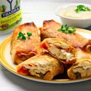 recetas ybarra rollitos de hojaldre con pollo y mayonesa