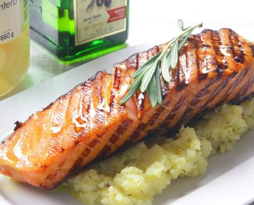 recetas ybarra salmon con soja y miel