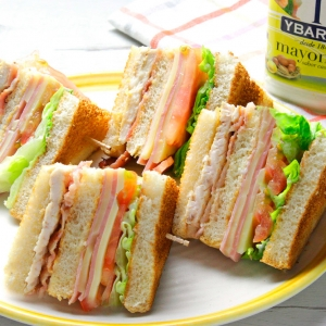 recetas ybarra sandwich club de mayonesa