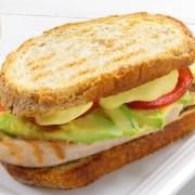 recetas ybarra sandwich de pavo y aguacate