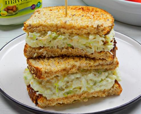 recetas ybarra sandwich playero con mayonesa