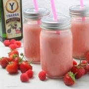 receta ybarra smoothie de frutos rojos y aceite virgen extra
