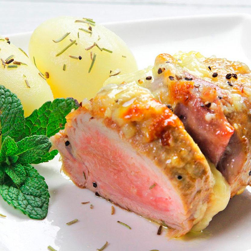 recetas ybarra solomillo relleno con jamon y salsa alioli