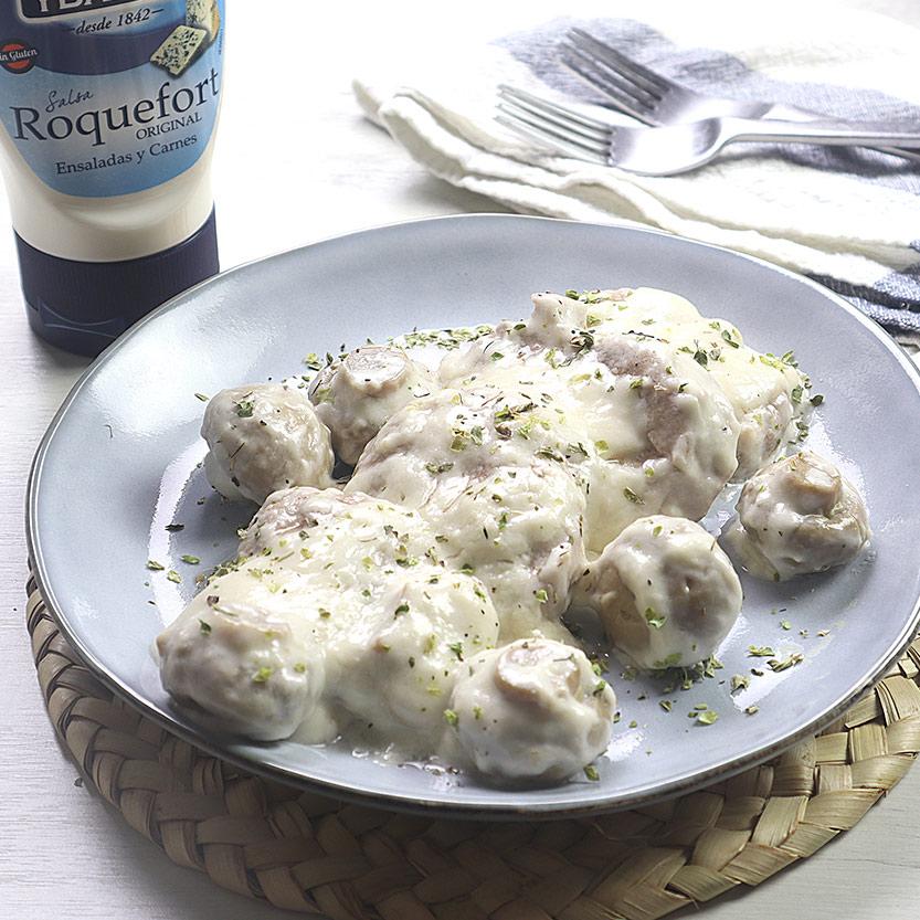 recetas ybarra solomillo con salsa roquefort