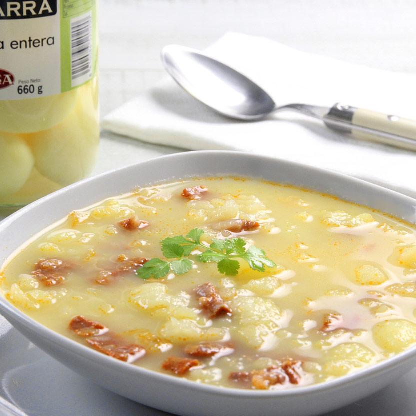 recetas ybarra sopa de chorizo y patatas