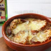 recetas ybarra sopa gratinada de cebolla