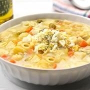 recetas ybarra sopa de verduras