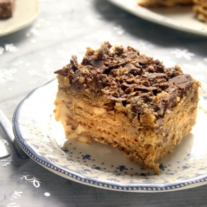 recetas ybarra tarta de la abuela de turron y chocolate