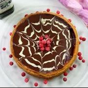 receta ybarra tarta de calabaza y chocolate con aceite virgen extra para halloween