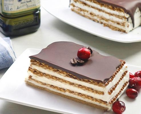 recetas ybarra tarta de chocolate y helado de queso