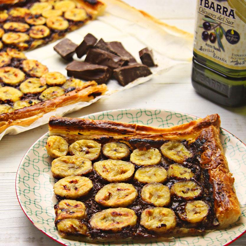 recetas ybarra tarta fina de platano