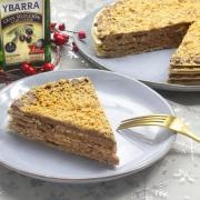 recetas ybarra tarta de obleas y turron