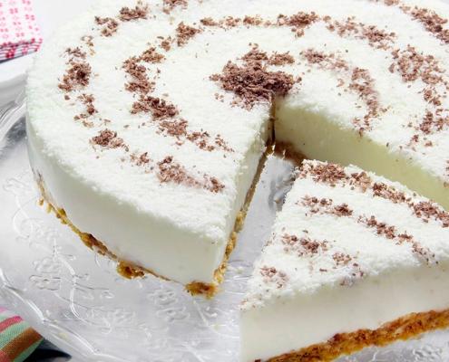 recetas ybarra tarta de yogur de coco