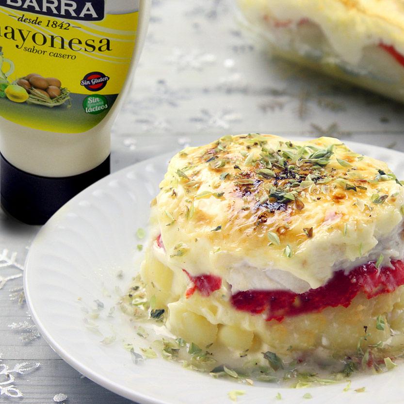 recetas ybarra timbal de merluza con mayonesa