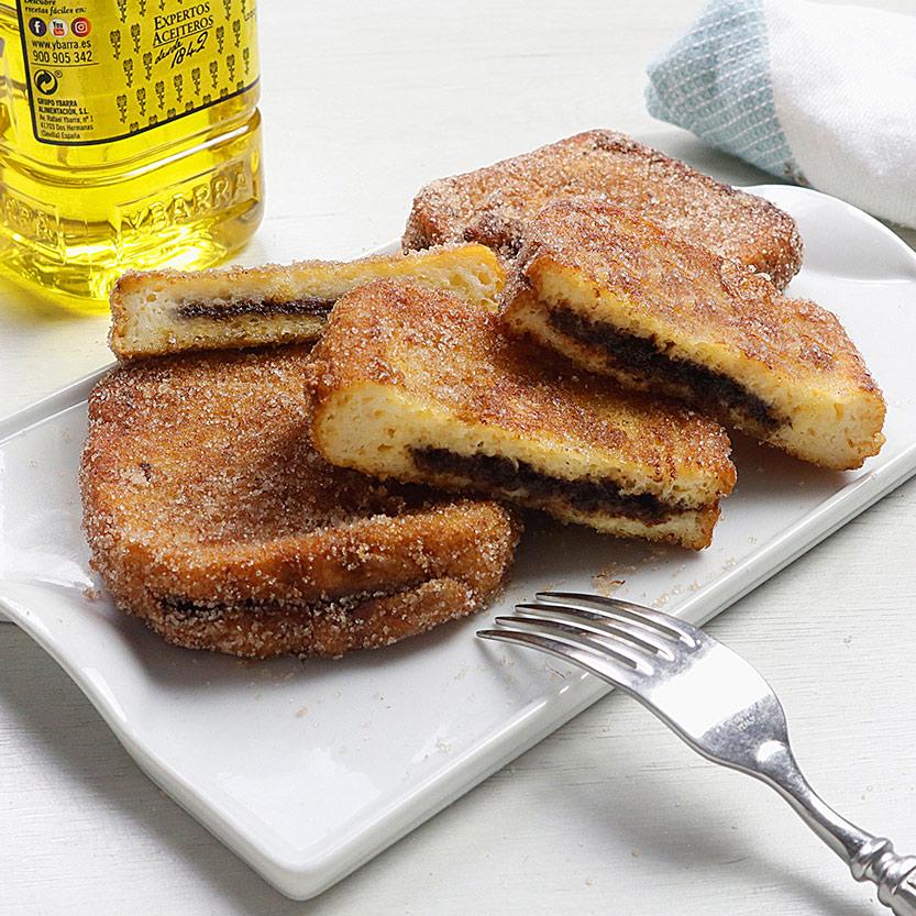 recetas-ybarra-torrijas-rellenas-chocolate