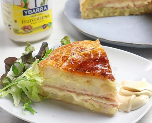 recetas ybarra tortilla de hojaldre y mayonesa