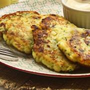 recetas ybarra tortitas de patata y calabacin