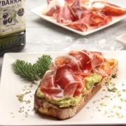 recetas-ybarra-tostada-saludable-desayuno-jamon-aguacate-aceite-oliva-virgen-extra