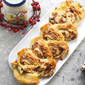 recetas ybarra tronco de navidad con mayonesa