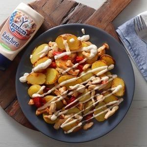 patatas rancheras con pollo