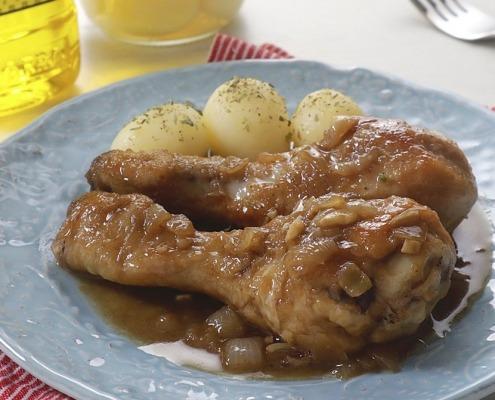 receta Ybarra de pollo a la coca cola