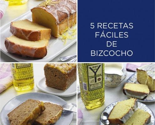 5 recetas de bizcochos con aceite fáciles e irresistibles