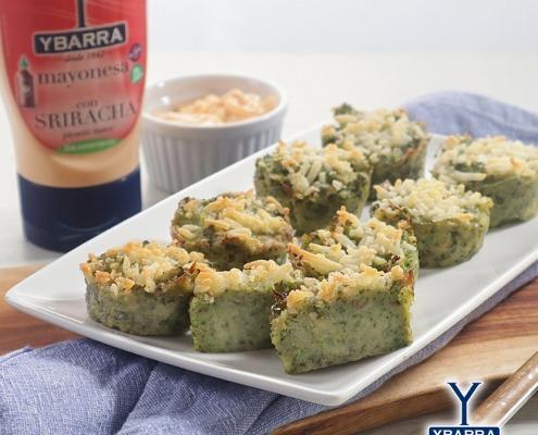 Pastelitos de brócolis